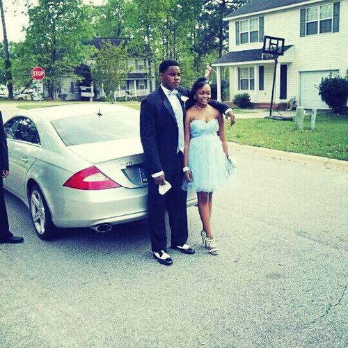 Prom Date Last Year...been Stuntin Hard