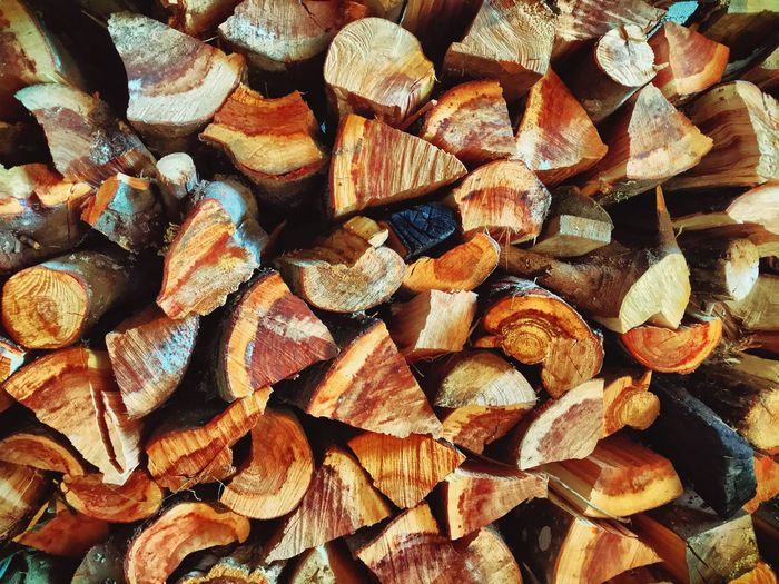 Full Frame Backgrounds Large Group Of Objects Abundance No People Timber Log Textured  Woodpile Day Close-up Outdoors Forestry Industry Nature