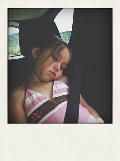 What Does Peace Look Like To You? my sister sleeping. peace and quite