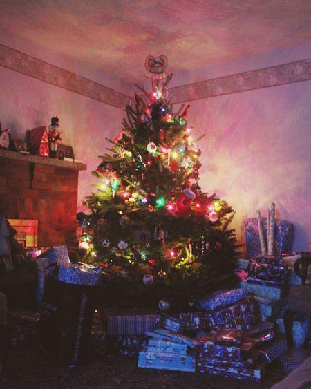 christmas morning Christmas Tree Christmas Lights Christmas Morning Magic Hour