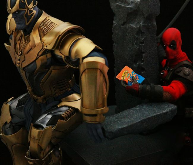 Check This Out Onesixthscale Toyphotography Hottoys Marvel Inifintywars Thanos Deadpool