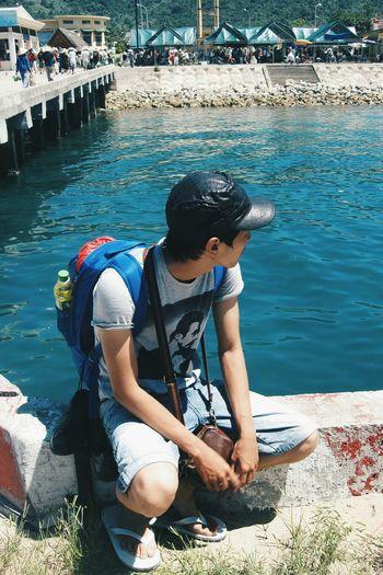 Danangbeach CuLaoCham Vietnamtravel Eyeemvietnam Vietnam Traveling Life Is A Beach