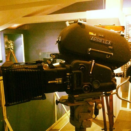ARRI arriflex reminds me about my work Berlin Deutschland Germany Filmtechnik Technikmuseum