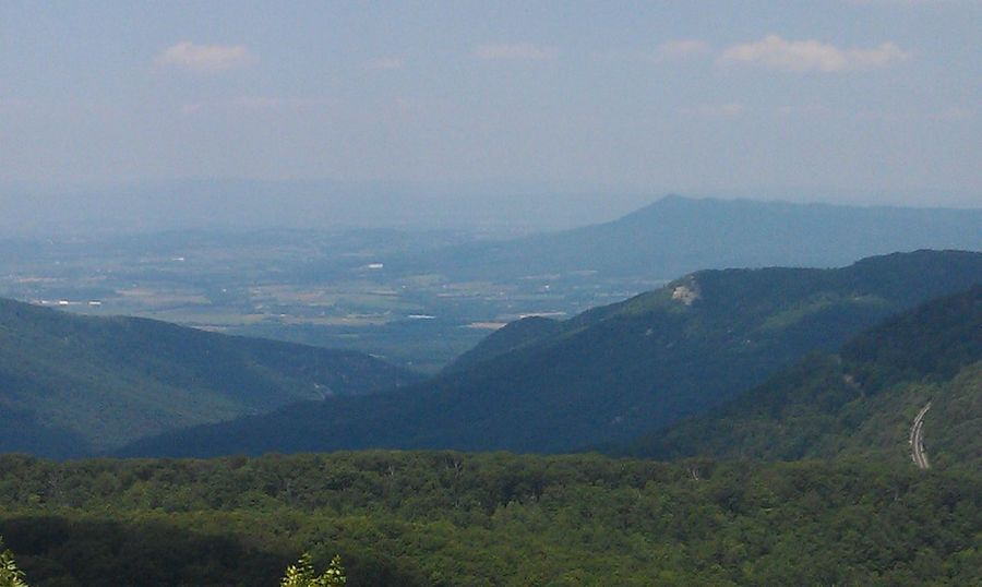 Edge Of The World Nature Scenic Blue Ridge Mountains On A Hike Such a Beautiful View from the top. Eye4photography