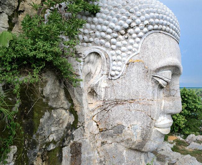 Khmer Culture Khmer Empire Massive Statue Battambang, Cambodia Buddha Head Travel Destination Tourism ASIA Travel Spirituality Massive Buddha Statue