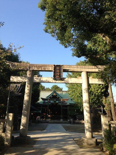 Shrine 私がお宮参りした場所 墨田区向島 牛島神社