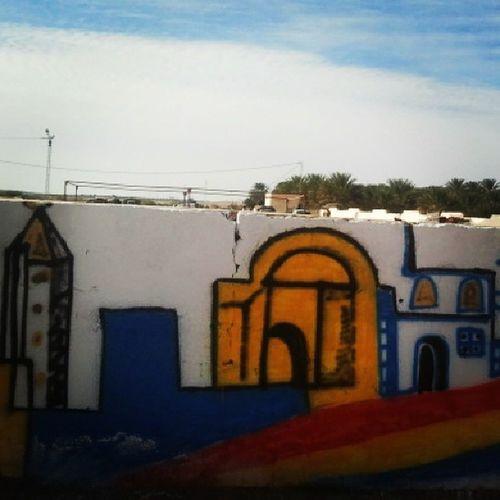 Graffeti Jemna Tunisie Tunisia
