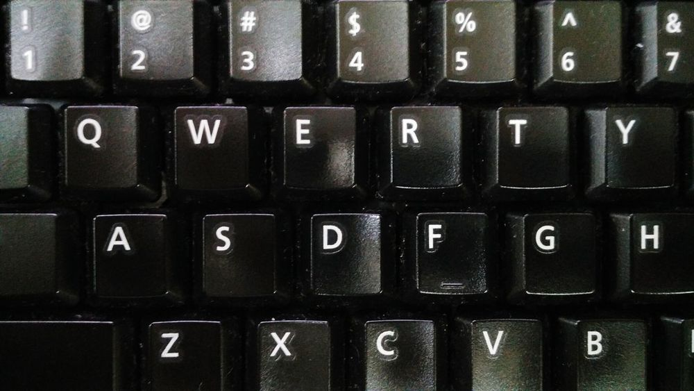 Q Q Q For Qwerty Q for qwerty Keyboard Keys Qwerty Qwerty Keyboard Black