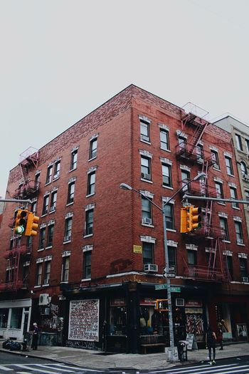 Grafitti Street Brick New York Building Exterior Architecture Built Structure Sky Clear Sky Building The Architect - 2018 EyeEm Awards Residential District Travel Destinations Wall City