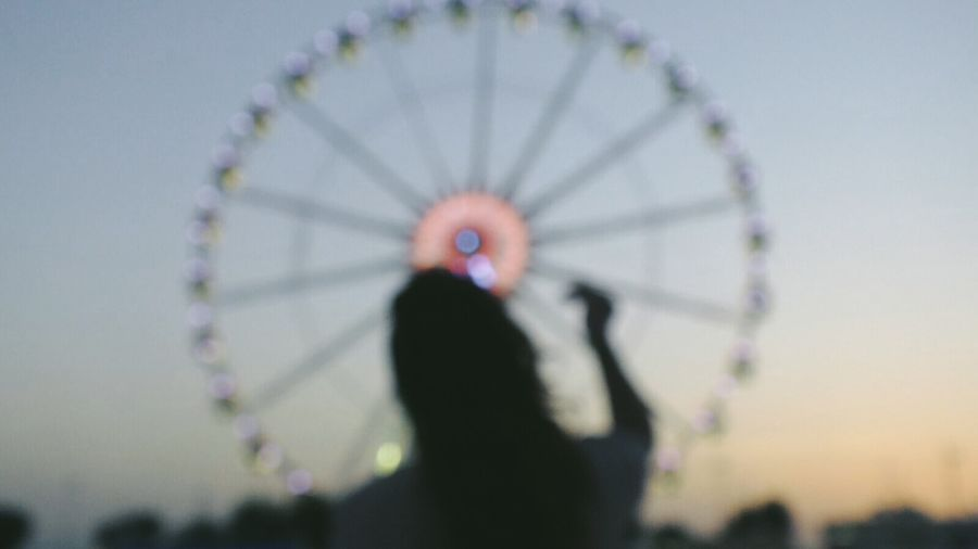 EyeEm Best Shots Ferris Wheel Amusement Park One Woman Only Outdoors Amusement Park Ride Arts Culture And Entertainment Travel Tranquility Tranquil Scene Visual Inspiration EyeEmNewHere Master_shots Masterclass EyeEm Masterclass Full Frame EyeEm Best Edits Growth Sunset_collection Sky Girl Beauty Real People Lifestyle Amusementpark Breathing Space Your Ticket To Europe Investing In Quality Of Life The Week On EyeEm