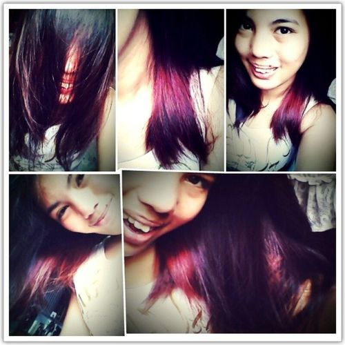Red na me Violet :-* LOVEMAHAIR Happykid