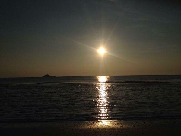 Sea Sea And Sky Sunrise Morning