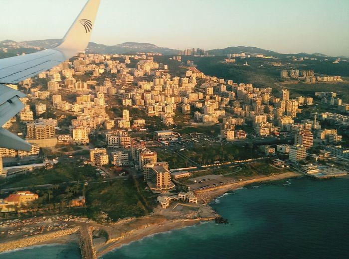 Lebanon From The Plane Window