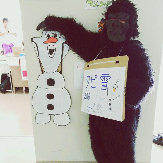 Gorilla オラフ アナと雪の女王 That's Me