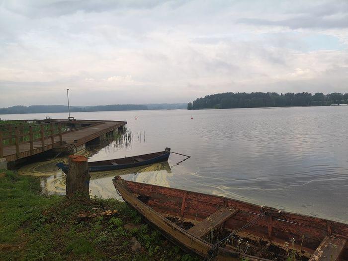 Boat Water Sky