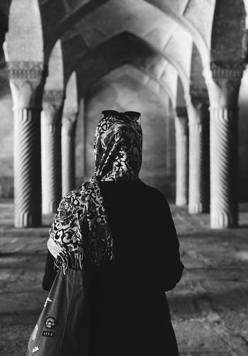 Shiraz Architecture Real People Rear View Built Structure One Person Focus On Foreground Leisure Activity