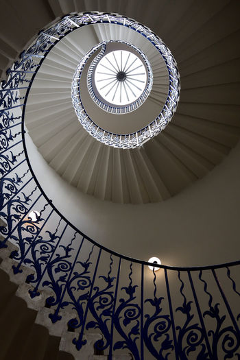 View of the tulip staircase in london