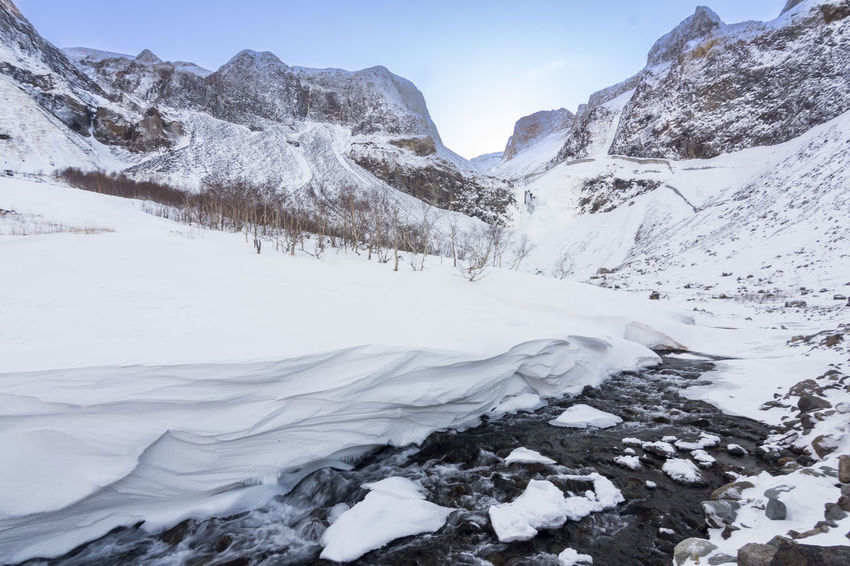 Winter wonderland, Changchuan, China China Landsape Mountain River Snow The Great Outdoors - 2017 EyeEm Awards Winter Winter Wonderland