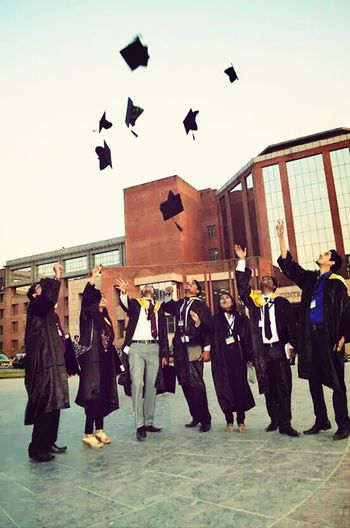 Convocation epic moment Enjoying Life