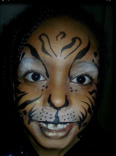 Kids Portrait Facepaint Tiger Beautiful ♥ EyeEm