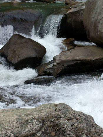 Hiking in NC. Green River Gorge.