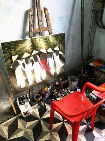 Painting Longdress Vietnam