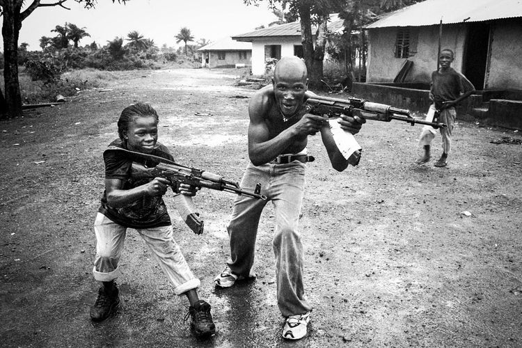 Africa Afrika AK47 Analogue Photography Black & White Blackandwhite Photography Child Soldiers Civil War Leica M6 The Photojournalist - 2017 EyeEm Awards The Portraitist - 2017 EyeEm Awards