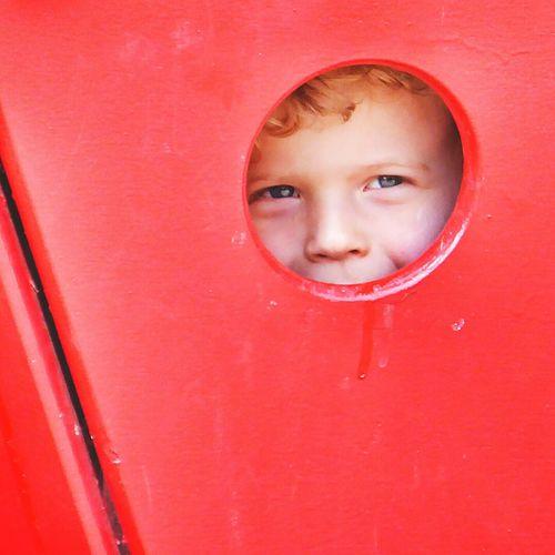 Peekaboo Kid Innocence Smiles