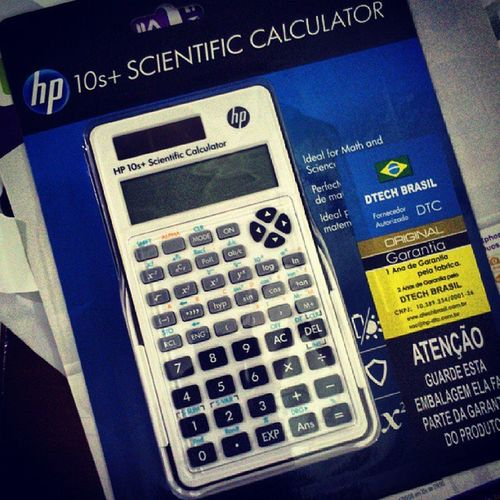 Agora eu vou te dominar Matemática Financeira. Matem áticafinanceira Calculator HP
