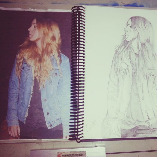 My drawing of Gemma Styles. One Direction Harry Styles Gemma Styles Art