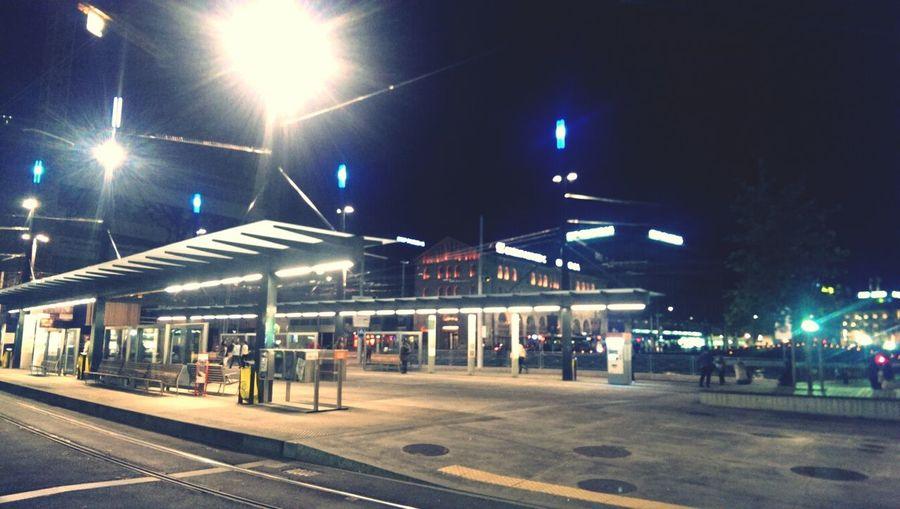 Walking Around Geneva At Night Getting Some Fresh Air