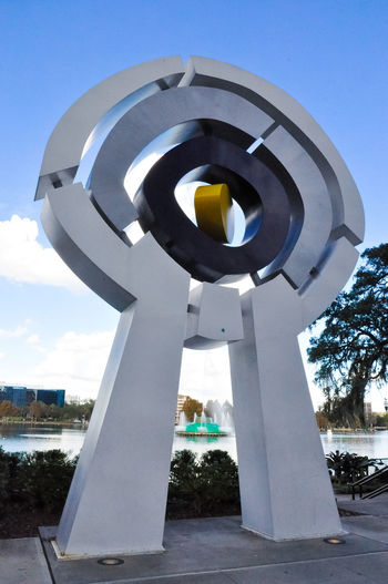 Architecture Centered Day Downtown Eye Lake Eola Park No People Orlando Florida Outdoors Sculpture Sky First Eyeem Photo