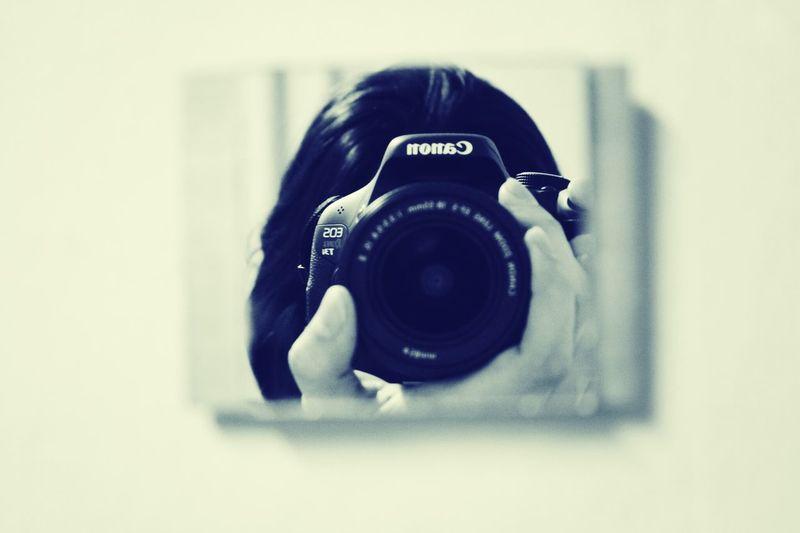 Canon Photography Mirror Monochrome