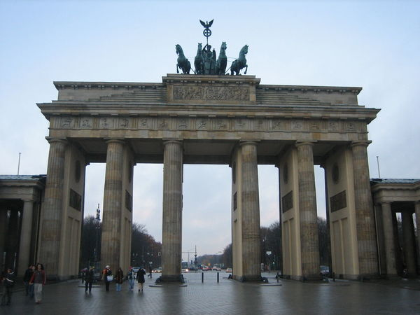 Berlin, Germany 2006 Architectural Column Architecture Branderburgertor Built Structure City City Gate Day Illuminated Large Group Of People Monument Outdoors People Sculpture Sky Statue Tourism Travel Travel Destinations Triumphal Arch EyeEmNewHere