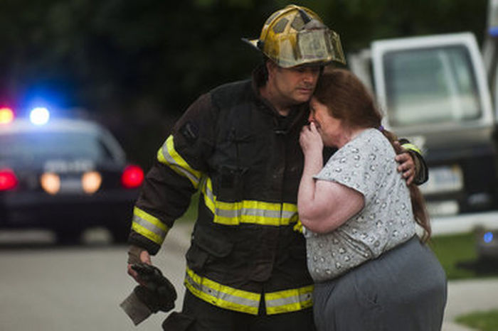 Our job is not just to put the fire out. Its to comfort, console and reassure that this will not be the end. To provide hope when all seems lost. Firefighter Service Responsibility Pride Commitment Honor No Days Off The Calling Togetherness Hope