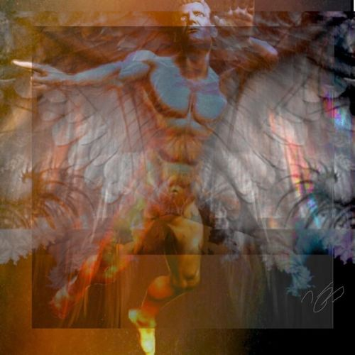 Another addition to my Saints and sinners project Artpose Saints Angel Untitled Modern Art IPhone5