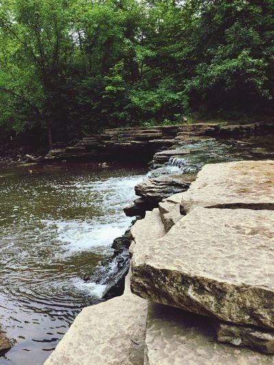 Water Scenics Nature Outdoors Waterfall