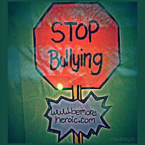 Stop bullying - http://www.bemoreheroic.com Gang_family Stop Bullying BeMoreHeroic Taking Photos DIY