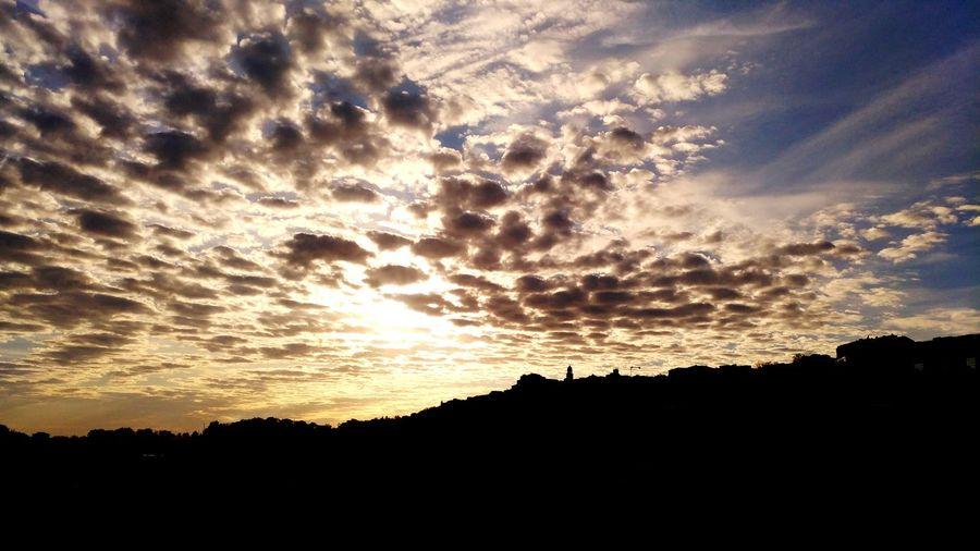 skyline of a