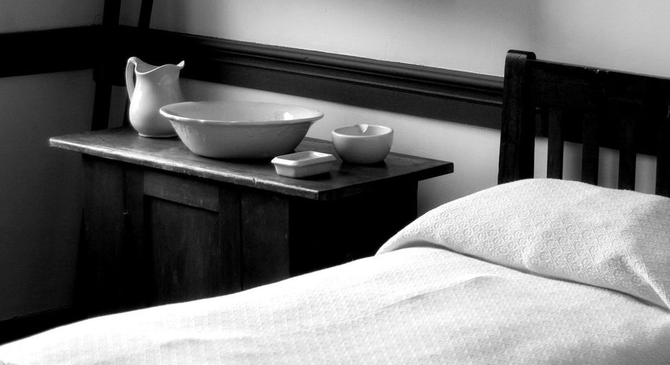 Objects Next To A Bed