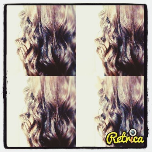 my hair for tomorrow <3 Love It Omfg! <3