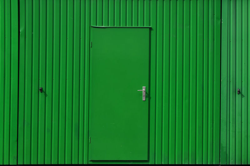 Green door on corrugated iron metal wall, background Architecture Background Background Texture Backgrounds Built Structure Close-up Closed Corrugated Corrugated Iron Door Full Frame Green Color Green Color Lock Metal Metal Industry Metallic Outdoors Pattern Protection Safety Security Textured  Wall Wall - Building Feature The Graphic City