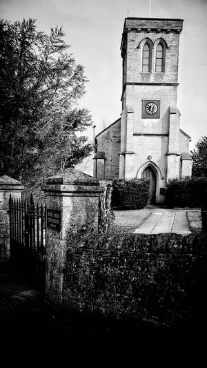 Taking Photos Shadows Structured Material Stones Structure And Nature Blackandwhite Blackandwhite Photography EeYem Best Shots Beauty In Ordinary Things Eeyem Photography Perspective Tranquility Building Church Churches Wall - Building Feature Clock Tower Stone Wall Stone Buildings