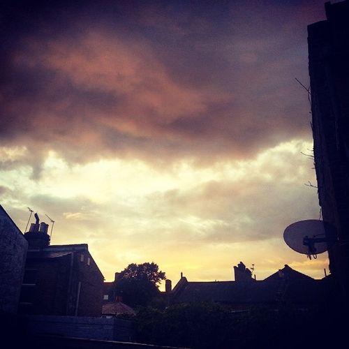 Skies Clouds Weather Bertha