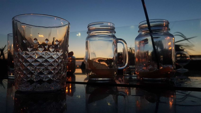 EyeEm Selects Food And Drink Refreshment Drink Water Drinking Glass Indoors  Day No People Sky Close-up Sommergefühle Summer Blue Outdoors Food And Drink Industry Nature P