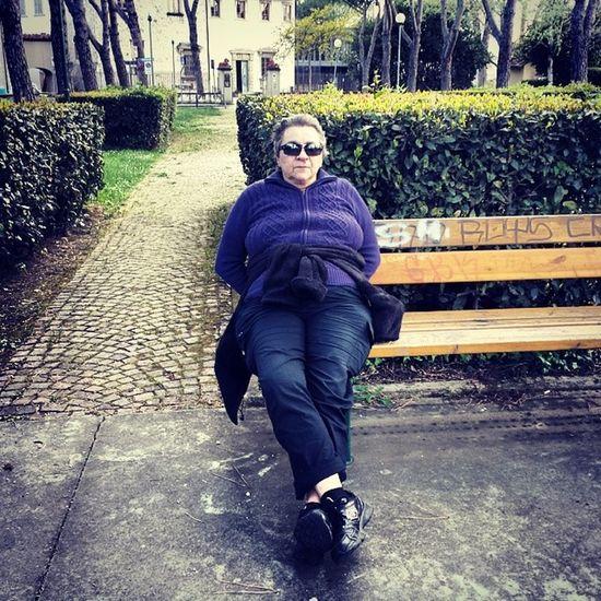 Dopo la camminata il riposino Sesto_fiorentino Tuscany Landscape Italy giardino garden