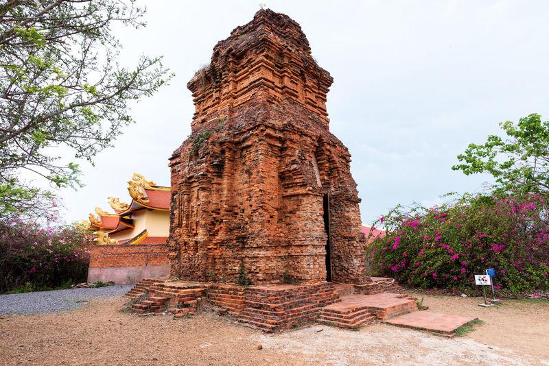 Cham towers, Phan Thiet , Binh Thuan Ancient Architecture ASIA BINH THUAN Cham Champa Heritage Hinduism History Landmark Phan Thiet Poshanu Religion Sanctuary  Shiva Spirituality Temple Tower Traditional Travel Vietnam