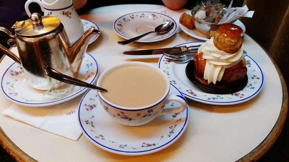 Cafe Carette Retrouvaille Trocadero Paris