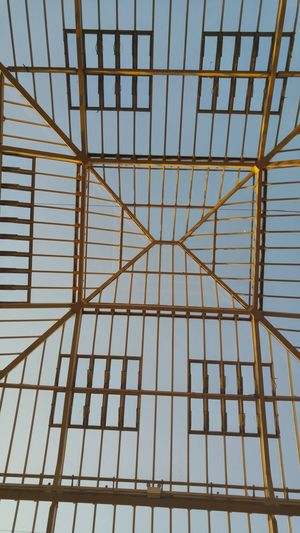 Skyroof Built Structure Geometric Shape Architectural Feature Clear View Modern Architecture