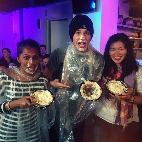 Pie Eating Contest Lol I Won